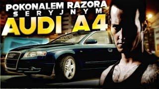 Pokonałem Razora seryjnym Audi A4 na LIVE! - NFS: Most Wanted