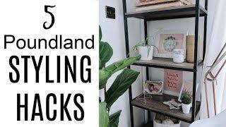 5 Poundland Styling Hacks | Home Decor Diy On A Budget