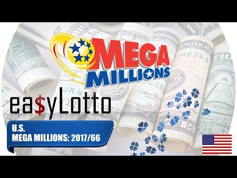 MEGA MILLIONS numbers 18 Aug 2017