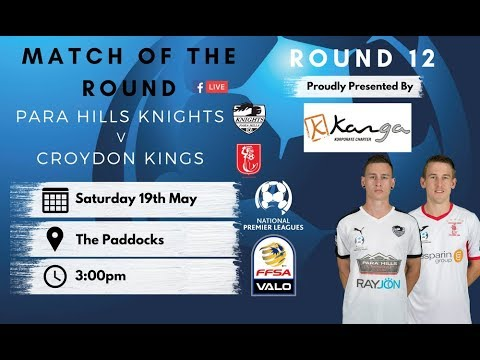 NPLSA Round 12 Para Hills Knights vs Croydon Kings