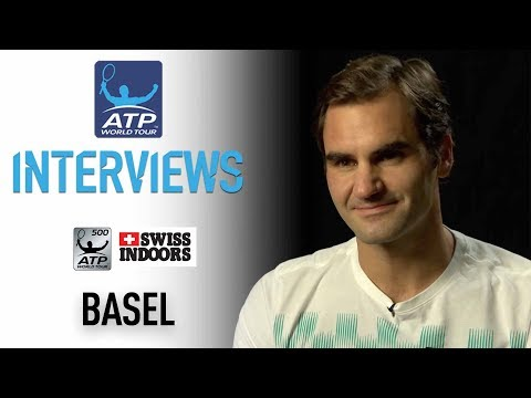 Federer Reacts To Winning Eighth Basel Title