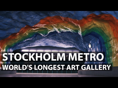 Stockholm Metro Art Gallery