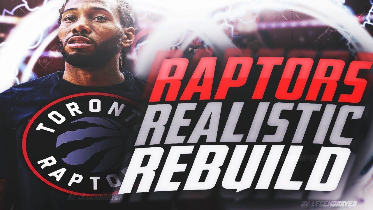 390feeaf4 KAWHI LEONARD STAYS ! 2019 RAPTORS REALISTIC REBUILD! NBA 2K18 - YouTube