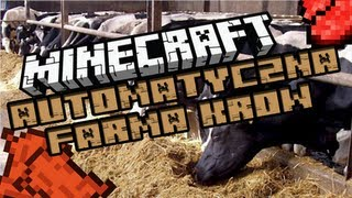 Minecraft: Najlepsza automatyczna farma krów