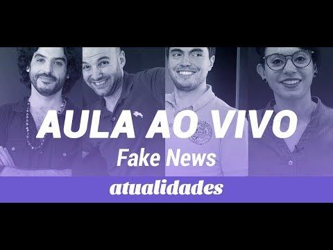 ATUALIDADES: TUDO SOBRE AS FAKES NEWS