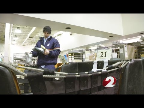 Mail carriers embrace the holiday rush with Sunday deliveries
