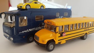 Bus Videos for Children by Dlan | Unboxing Videos for Kids