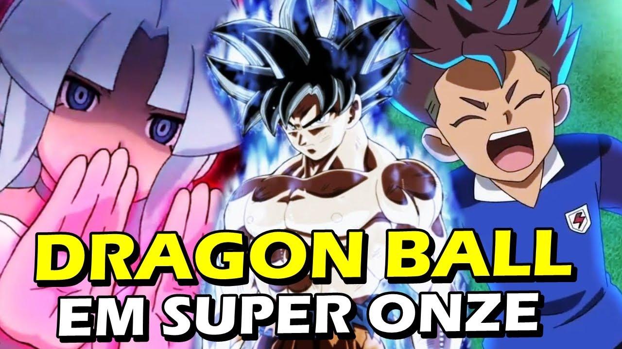 REFERÊNCIAS DE DRAGON BALL EM SUPER ONZE | Inazuma Eleven