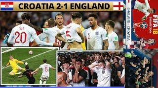 England Vs Croatia World Cup Semi Final Goal Highlights 2018