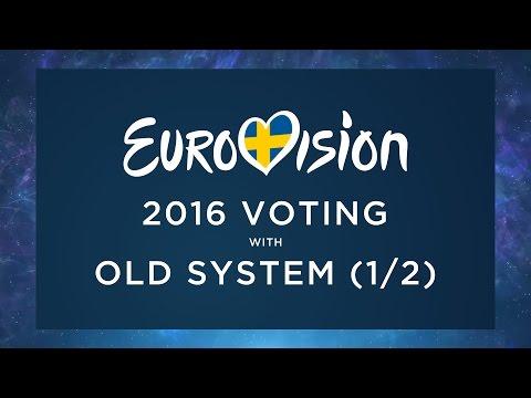 EUROVISION 2016 // VOTING - OLD SYSTEM (PT 1/2)