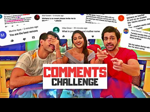 Comments Challenge | Rimorav Vlogs