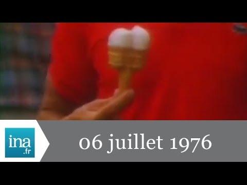 20h Antenne 2 du 06 juillet 1976 - Canicule sur la France - Archive INA