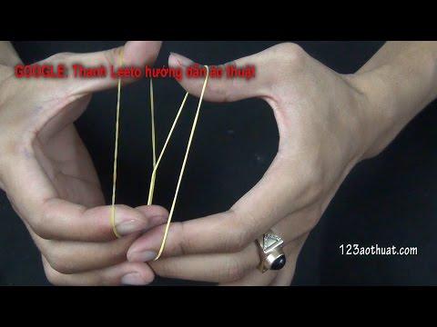 [Tập 17-Free ảo thuật] học làm ảo thuật cực đơn giản với- 2 Sợi Dây Thun!