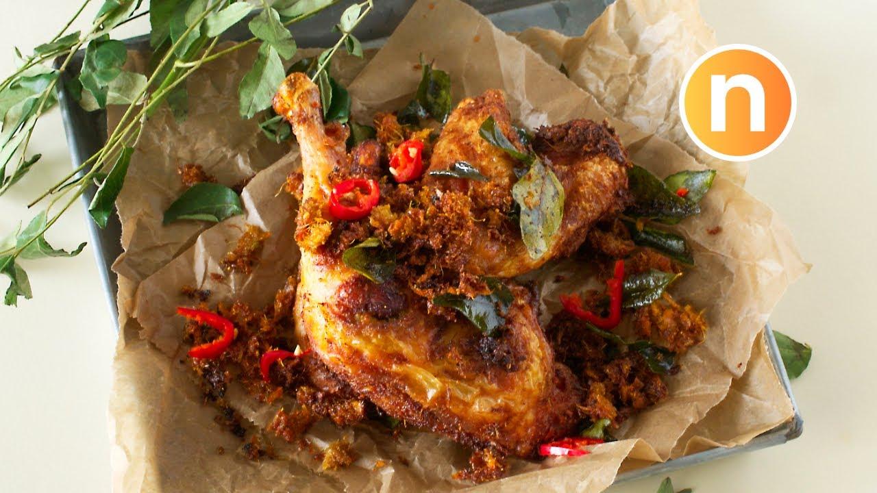 Ayam Goreng Berempah | Malay Spiced Fried Chicken | 马来香料炸鸡 [Nyonya Cooking] - YouTube