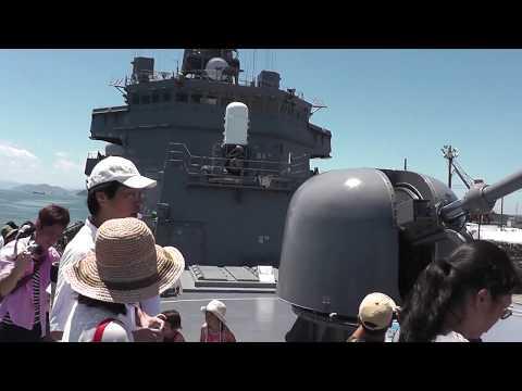 護衛艦さみだれ艦内展示 玉島ハーバーフェスティバル 20150726