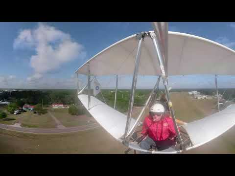 GoPro Fusion 360 Footage of John Moody flying to Sun'n'Fun 2018