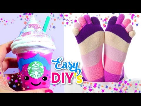 DIYs UNICORN CRAFTS TO DO WHEN YOU ARE BORED   Easy, Cute & Weird   Isa's World