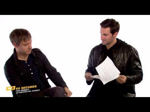 MAX 60 Seconds: Martin Freeman (The Hobbit)