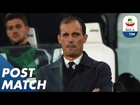 Juventus 3-1 Cagliari | Allegri Post Match Press Conference | Serie A