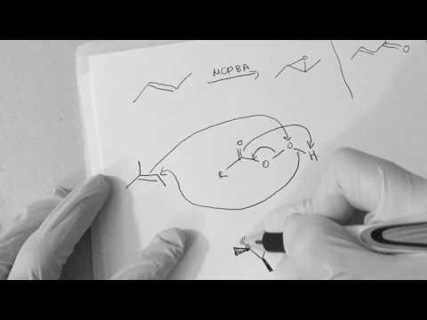 Epoxidation of citral. MCPBA vs H2O2 NaOH. Chemoselectivity