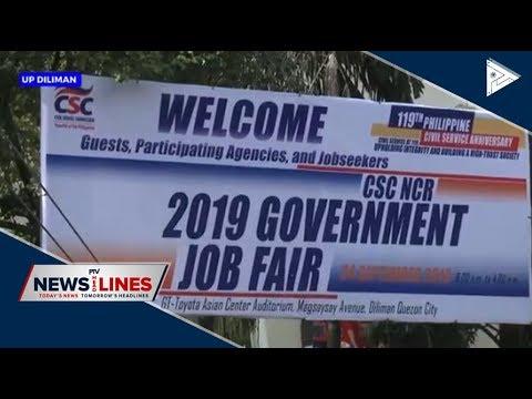 CSC Hold 2019 Government Job Fair