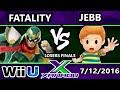 S@X 158 - TA   Fatality (Captain Falcon) Vs. AOH   Jebb (Lucas) SSB4 Losers Finals - Smash Wii U