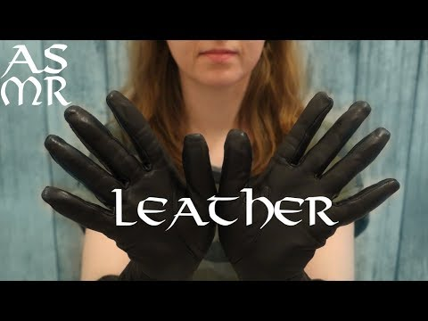 ASMR: ONLY LEATHER (no Talking)