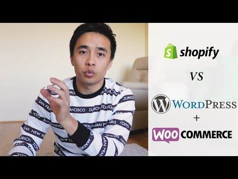 Shopify VS WordPress & WooCommerce – My Honest Review 2019!