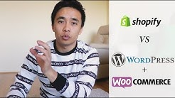 Shopify VS WordPress & WooCommerce - My Honest Review 2019!