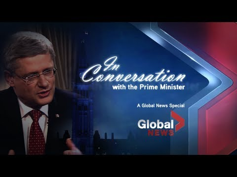 In Conversation with Prime Minister Stephen Harper