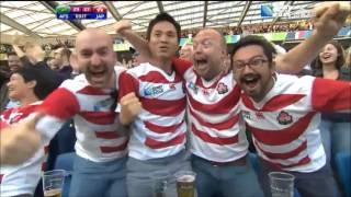 Japon vs Afrique du Sud : Les 3 Essais japonais (TF1)