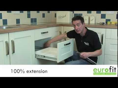 How To Fit Or Replace A Drawer Slide Or Runner - YouTube
