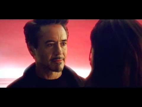 Встреча Тони и Морган в камне души(Мстители:Финал) / Tony and Morgan meeting after a click(Avengers)