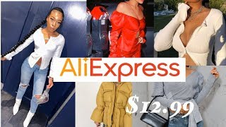 ALIEXPRESS FALL TRY-ON HAUL| baddie on a budget| 2019