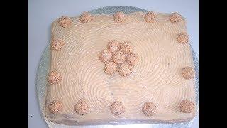 Карамельный бисквит