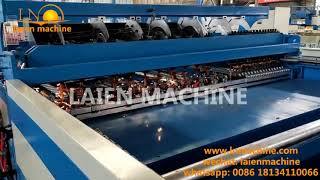 3-6mm Welded Wire Mesh Fence Panel Machine Automatic Production Line
