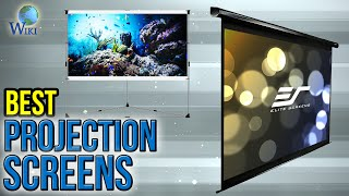10 Best Projection Screens 2017