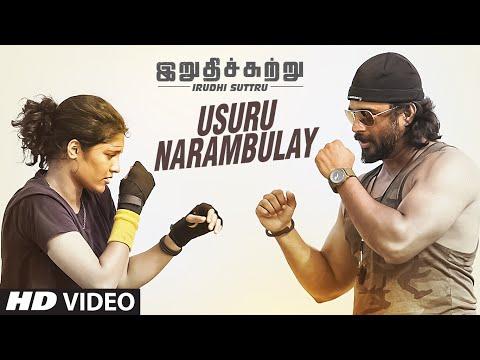 Usuru Narambulay Full Video Song || Irudhi Suttru || R. Madhavan, Ritika Singh || Santhosh Narayanan