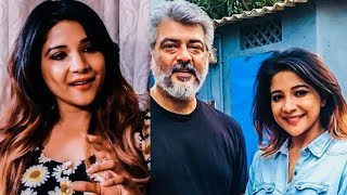 My Biggest Fan Moment | Sakshi Agarwal Opens Up About Thala Ajith