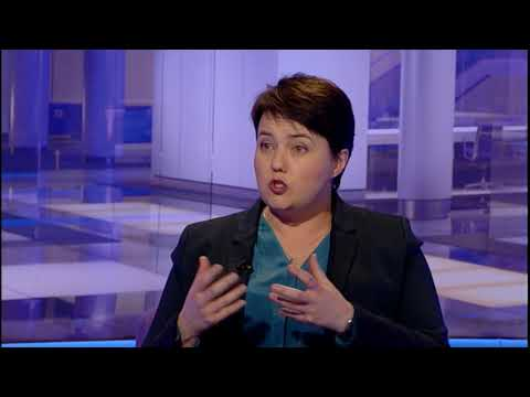 Scottish Conservatives leader Ruth Davidson MSP on Scotland Tonight
