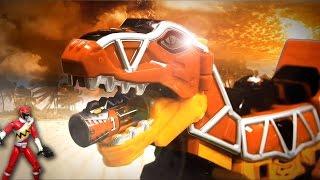 파워레인저 다이노포스 티라노킹 가브티라 공룡 장난감 동영상 獣電戦隊キョウリュウジャー power ranger dino force