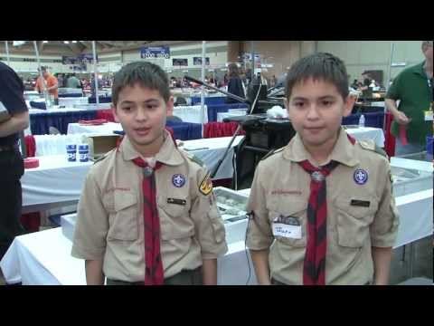 Boy Scouts Talk About Coin Collecting at Whitman Expo, VIDEO 2:56.