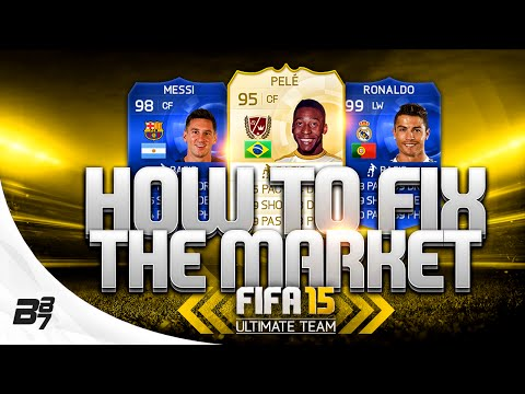 FIFA 15 | HOW TO FIX THE TRANSFER MARKET! PLAYER CAPPING?