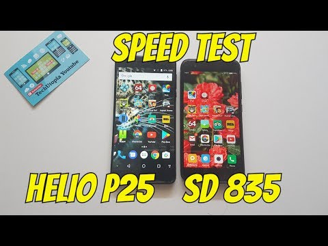 Helio P25 vs Snapdragon 835 Speed test/Gaming/Comparison Ver