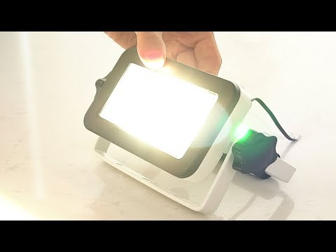 The Best LED Work Light Review (EXTREMELY BRIGHT Flood Light!)