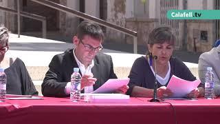 Ple de constitució Ajuntament de Calafell