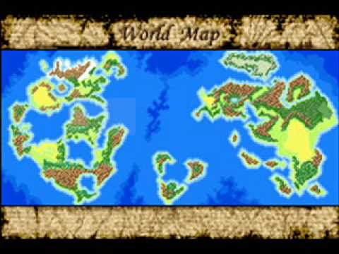 Lufia The Ruins Of Lore World Map 2 Youtube