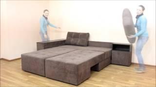 видео Угловой диван Барбадос - мебельная фабрика StArt furniture