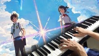 Sparkle (your name.) Piano Cover/MV スパークル  -『君の名は。』(ピアノ MV) [original ver.]