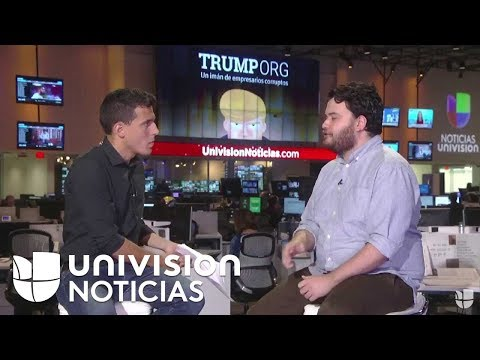 Te contamos la exclusiva de Univision Noticias  y Columbia Journalism School sobre la marca Trump